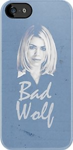 Rose Tyler Bad Wolf iPhone Case