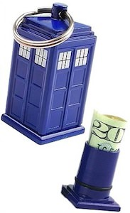 Dr. Who Tardis Emergency Fun Key Chain