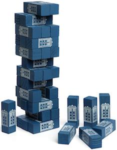 The Doctor Tardis Tumbling Tower Game