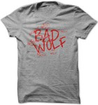 Dr. Who Bad Wolf Graffiti T-Shirt