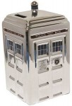 Dr. Who Ceramic Silver Tardis Money Bank