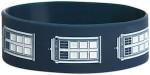 Dr. Who Tardis Rubber Wristband