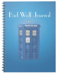Doctor Who Tardis Spiral Bound Journal