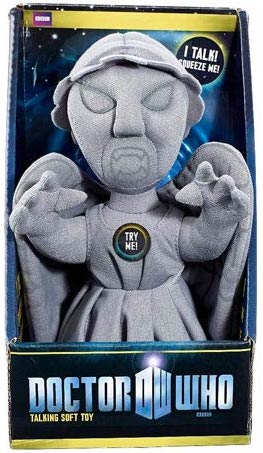 Dr. who Weeping Angel Talking Plush