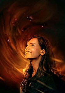 Dr Who Poster of Clara Oswald
