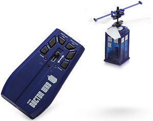 Dr Who Remote Controlled Flying Tardis