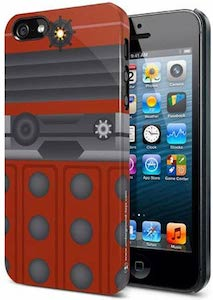 Doctor Who Red Dalek iPhone 5s Case