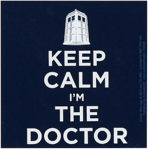 Keep Calm I'm The Doctor Magnet