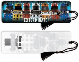 Doctor Who Dalek Exterminate! Bookmark