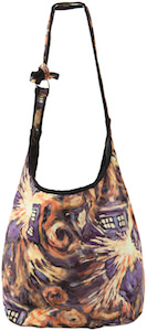 Dr. Who Exploding Tardis Hobo Bag