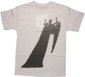 Weeping Angel Shadow Don't Blink T-Shirt