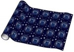 Dr. Who Tardis and Stars Wrapping Paper