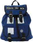 Shop Doctor Who Tardis backpack.