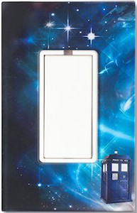 Doctor Who Light switch plate