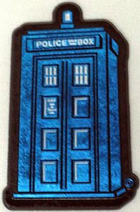 Doctor Who Tardis Shaped Fridge Magnet
