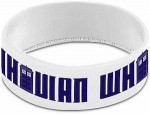 Doctor Who White Whovian Wristband