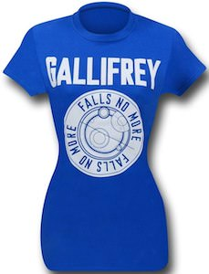 Dr. Who Gallifrey Falls No More Women's T-Shirt