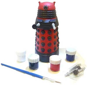 Doctor Who Paint Your Own Dalek Ceramic Money Bank