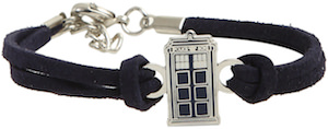 Doctor Who Tardis Cord Bracelet