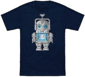 Doctor Who wind up cyberman t-shirt