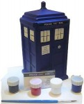 Doctor Who Paint Your Own Tardis Money Bank