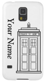 Doctor Who Tardis Samsung Galaxy S5 Phone Case