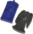 Doctor Who Tardis And Weeping Angel Cookie Cutter Set