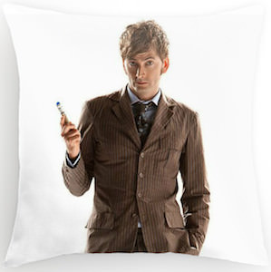Doctor Who David Tennant pillow