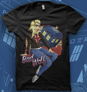 Doctor Who Rose Bad Wolf T-Shirt