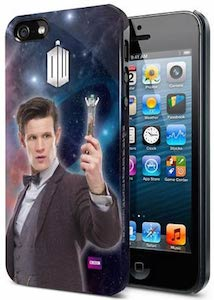 Matt Smith as Doctor Who on this iPhone 5 case