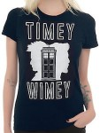 Dr. Who women's Timey Wimey T-Shirt