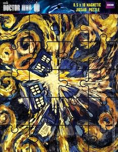 Dr. Who Doctor Who Exploding Tardis Magnetic Jigsaw Puzzle