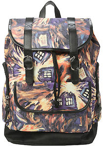 Doctor Who Exploding Tardis Slouch Backpack