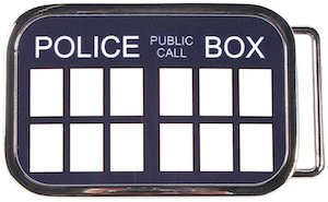 Doctor Who Tardis Belt Buckle