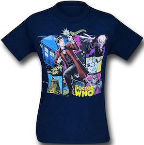 11th Doctor Who Comic T-Shirt