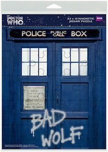 Tardis Bad Wolf Magnetic Jigsaw Puzzle