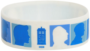 Doctor Who Anniversary Silhouette Bracelet