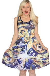 Doctor Who Exploding Tardis Dress