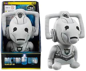 Doctor Who Talking Cyberman Plush