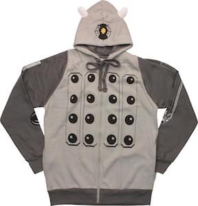 Dr. Who Grey Dalek Costume Hoodie