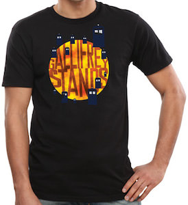Dr. Who Gallifrey Stands T-Shirt