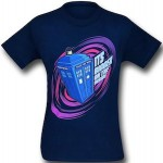 Dr Who Tardis It's Bigger On The Inside T-Shirt