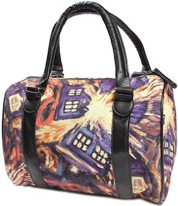 Doctor Who Exploding Tardis Handbag