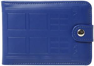 Dr Who Tardis walletDoctor Who Embossed Bi-Fold Tardis Wallet