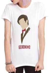 Doctor Who 11th Doctor Geronimo T-Shirt
