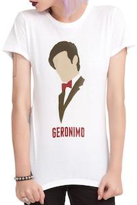 Doctor Who 11th Doctor Geronimo T-Shirt