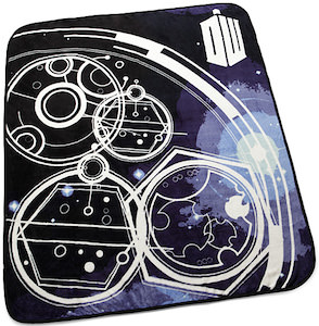 Doctor Who Gallifrey Symbols Blanket