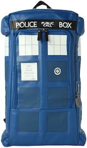 Dr. Who TARDIS Figural Backpack for school or fun