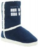 Dr. Who Tardis Slipper Boots