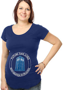 Dr. Who Future Time Lord Maternity T-Shirt